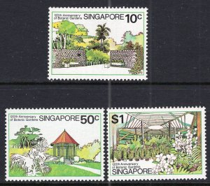Singapore 333-335 MNH VF