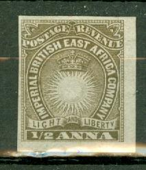 British East Africa 14a mint CV $1200