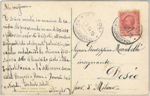 53725 - ITALIA COLONIE: LIBIA -  CARTOLINA da TRIPOLI  1919