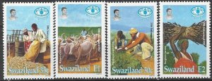 Swaziland 644-7   MNH  United Nations FAO