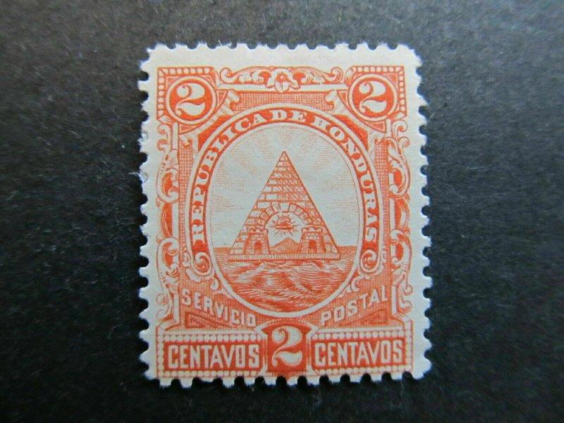 A4P11F4 Honduras 1890 2c mh*