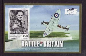 BIOT-Sc#405-unused NH sheet-Battle of Britain-RAF-Planes-Aircraft-WWII-Sir Dougl