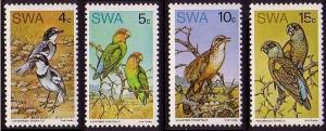 SWA Rare Birds 4v SG#260-263 MI#392-395