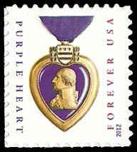 PCBstamps  US #4704 {45c}Purple Heart, MNH, (PCB-3)