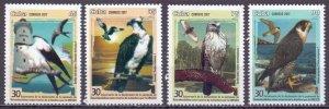 Cuba. 2017. Lighthouses, birds of prey, fauna. MNH.