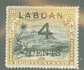 Labuan 91  Mint F-VF HR