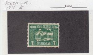 J29003, 1930  iceland mh  #154