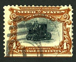 U.S. #296 USED