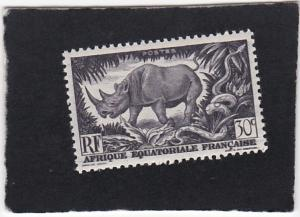 French Equatorial Africa #167  unused