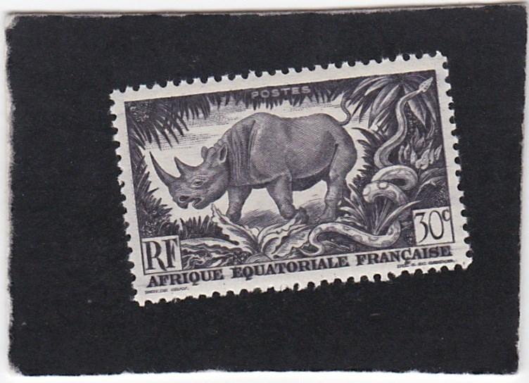 French Equatorial Africa #167  unused