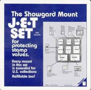 SHOWGARD BLACK MOUNTS US2 (320) RETAIL PRICE $32.95