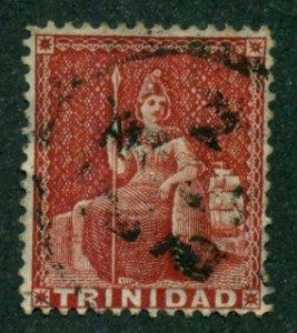 Trinidad 1860 #27a U SCV (2018)=$40.00
