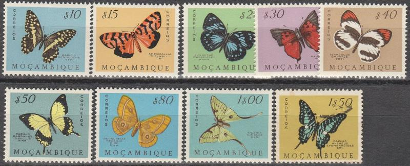 Mozambique #364-72  F-VF  Unused CV $3.75  (A14940)