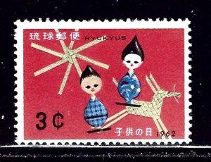 Ryukyu Is 97 MNH 1962 Children's Day    (ap2315)