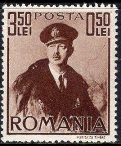 Romania (1940) #B122 MH. King Carol II