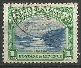 TRINIDAD AND TOBAGO, 1936, used 1p, First Boca  Scott 34