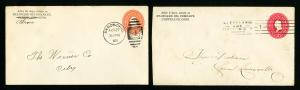 US Lot of 100 Advertising Stamp Covers Some Over 100 Years Old