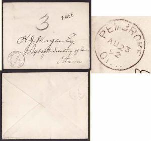 Canada #9337 - Stampless-rated FREE and then rerated 3 -Renfrew
