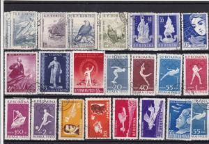 Romania Stamps Ref 14216