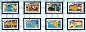 WORLD WIDE 1992 500th Anniversary Discovery AMERICA MNH  COLLECTION LOT #F18