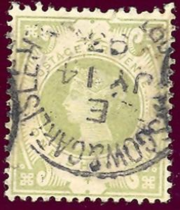 Great Britain 122 Used VF