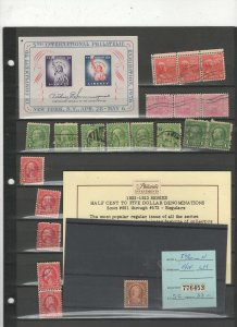 U.S. vintage, proprietary, mints blocks and more Lot #22