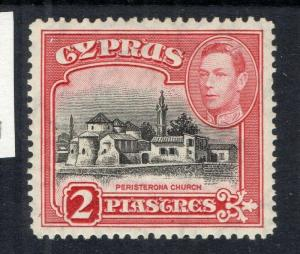 Cyprus 1938 Early Issue Fine Mint hinged Shade of 2p. 310260