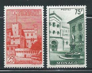 Monaco 319-20 Scenic set MNH