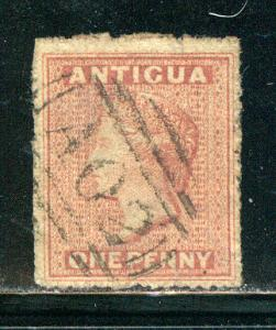 Antigua Scott # 2, used