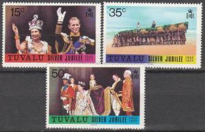 Tuvalu #43-5   MNH   CV $5.35 (S6295)