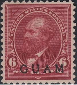 GUAM 6 VF NG (21319)