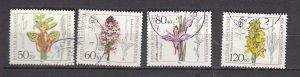 J26447  jlstamps 1984 germany set used #b623-6 flowers