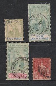 Trinidad x 4 old ones