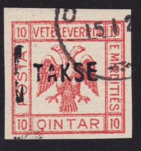 ALBANIA...An old forgery of a classic stamp................................69199