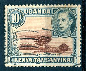 Kenya, Uganda & Tanganyika; 1952: Sc. # 71: O/Used Single Stamp