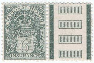 (I.B) George V Revenue : National Health & Insurance 6d