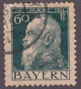 Bavaria 84a Prince Regent Luitpold 1911
