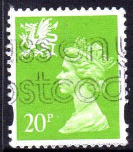 GREAT BRITAIN WALES 1996 20P