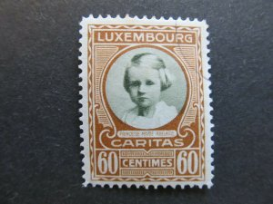 A4P27F125 Letzebuerg Luxembourg Semi-Postal Stamp 1928 60c + 10c used