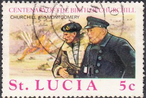 St. Lucia    #367     Used