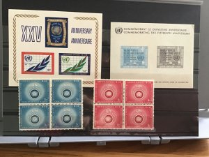 United Nations mint never hinged    Stamps   R30346
