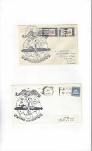 US Navy Covers USS George Washington SSBN 598