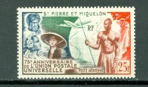 ST.PIERRE & MIQUELON  UPU #C18...MNH...$20.00