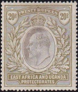 East Africa Uganda 1904-1907 SC 30 MLH