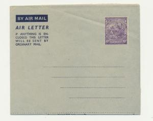 BARBADOS 1939 6d AIR LETTER VF USNUSED (SEE BELOW)