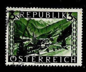 Austria # 480, Used. CV $ 5.00