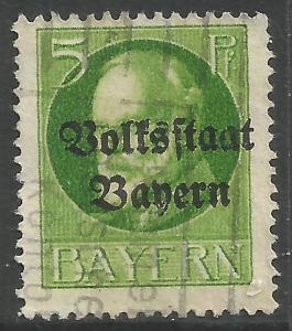 GERMANY BAVARIA 137 VFU Z5439-2
