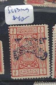 SAUDI ARABIA  (P0510B)   SC 13  MOG