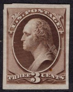 $US SC#147TC3a XF Trial Color Proof on India Paper, CV $125.00