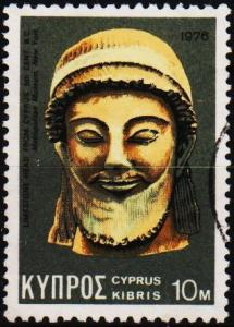Cyprus. 1976  10m S.G.460 Fine Used